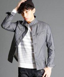 NICOLE CLUB FOR MEN/コーティングツイルシャツ/002128161