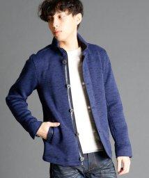 NICOLE CLUB FOR MEN/裏起毛ハイネックブルゾン/002128164