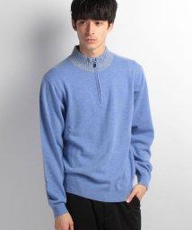 TAKASHIMAYA/【メンズ】カシミヤ100%使用ハーフジップセーター/002137229