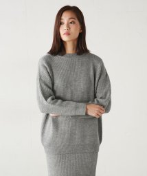 AZUL by moussy/畦編みニットセットアップ/002136390