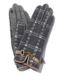 en recre/【CASSELINI】チェック柄手袋/002133335