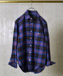 SHIPS MEN/SA: 【アメリカ製】 ネル/タータンチェック レギュラーカラー シャツ/002145841