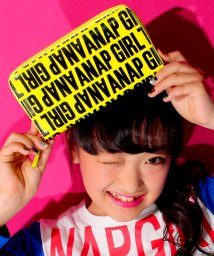 ANAP GiRL/ロゴ柄エナメルウォレット/002140423
