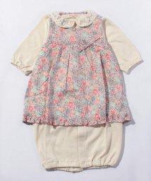 SENSE OF WONDER/リバティ・ミッシェルエプロン付兼用ドレス/002130259