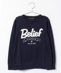 Lovetoxic/ロゴアップリケつきTシャツ/002141272