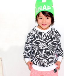 ANAP KIDS/フラッグ総柄トレーナー/002143583