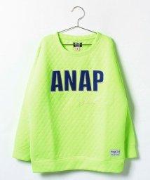 ANAP GiRL/キルティングロゴワッペントップス/002144671