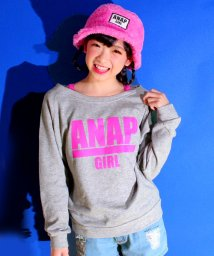 ANAP GiRL/ロゴオフショルダートップス/002144672