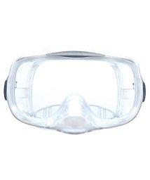 VIEW/ビュー/サイドウインド付で広視界高性能排水弁を備えたシリコーン3眼マスク/500004338