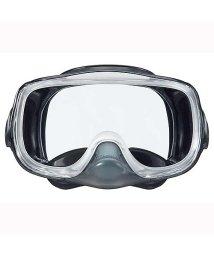 VIEW/ビュー/サイドウインド付で広視界高性能排水弁を備えたシリコーン3眼マスク/500004613