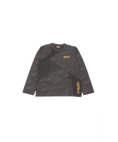 ナンバー/メンズ/NBTF切替え長袖Tシャツ