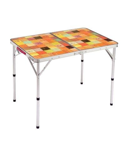 コールマン/ナチュラルモザイクリビングテーブル/90プラス