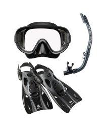 VIEW/ビュー/高機能を全てに集約したシリコーン製のマスク・スノーケル・フィン3点セット/500022191