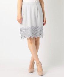 MISCH MASCH/裾レースふんわりタイトスカート/002025843