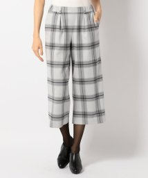 JIYU-KU /【春色新作】【洗える】チェルビック2wayストレッチ パンツ(ガウチョ)/500032715