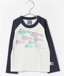 RUGGEDWORKS/ラグラン配色ロングTEE/002149030