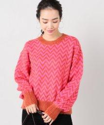 Spick & Span/【Designers Remix】IntarsiaSweater/500033363