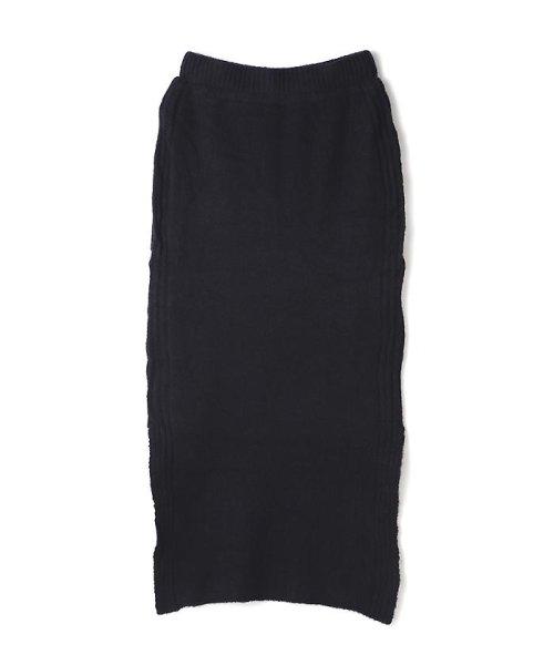 PROPORTION BODY DRESSING(プロポーション ボディドレッシング)/《BLANCHIC》ラーベン柄編みニットスカート/1216229020