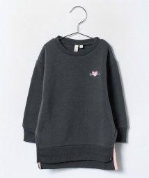 LAGOM/刺繍入りチュニックトレーナー/500029371