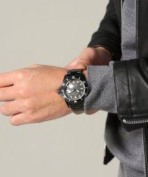 JOURNAL STANDARD relume Men's/Vague Watch Co. / ヴァーグウォッチカンパニー: BLK SUB−ALL BLACK QUARTS/500040951