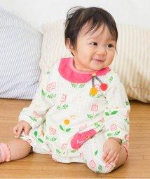 Petit jam / F.O.KIDS MART/ちょうちょの衿付きカバーオール/500032006