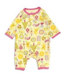 baby ampersand / F.O.KIDS MART/うさぎと花柄カバーオール/500031983