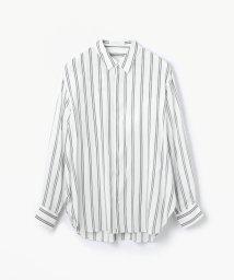 GALERIE VIE/ウォッシャブルレーヨン ビッグシャツ/500045321