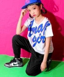 ANAP GiRL/筆記体ロゴTシャツ&パンツ SET/500041166