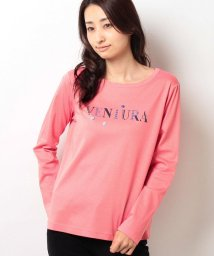 CARA O CRUZ/ロゴプリントTシャツ/10246377N