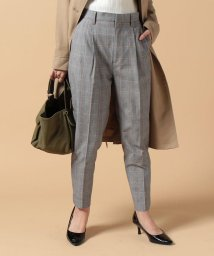 beautiful people/c/nylon glen check tucked pants/500047947