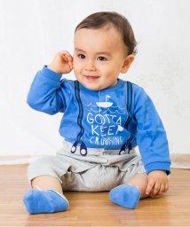 baby ampersand / F.O.KIDS MART/男児セパレート風カバーオール/500054340