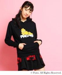 PINK-latte/ガーフィールド裏毛パーカー/500061489