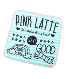 PINK-latte/ロゴ入りミニタオル/500063053