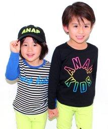 ANAP KIDS/ロングTシャツ2枚SET (パック売り)/500056822