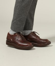 J.S Homestead/GRIZZLY BOOTS / グリズリーブーツ:LINE MAN OXFORD HORWEEN BROWN/500066029