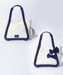 LANVIN en Bleu/キャンバスリボントート大/LB0003089