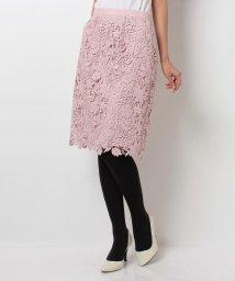 JUSGLITTY/カラーレースタイトスカート/10246730N