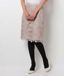 JUSGLITTY/カラーレースタイトスカート/500030488