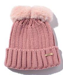 petit main/ファーリボンニット帽/500057036