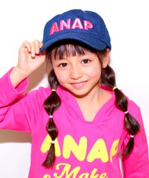 ANAP KIDS/3D刺繍ロゴCAP/500059508