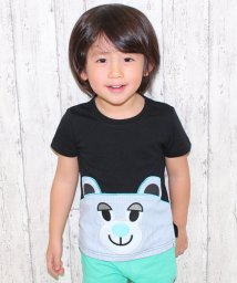 ANAP KIDS/ストライプキャラTシャツ/500064935