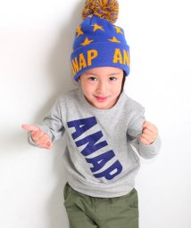 ANAP KIDS/ナナメロゴトップス/500068120