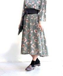 Bou Jeloud/【セットアップ対応商品】Poppyフラワーヘムスカート/500072789