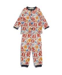 ampersand / F.O.KIDS MART/Boy'sロゴ総柄前開きパジャマ/500077731
