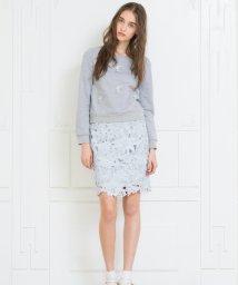 MIIA/ウエストフリンジレースタイトスカート/500073350
