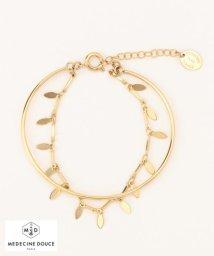 NIJYUSANKU/【MEDECINE DOUSE】Leaf Bracelet ブレスレット/500089309