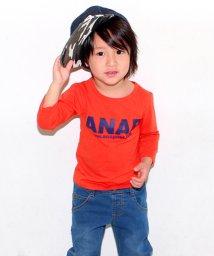 ANAP KIDS/アドレスロゴロングTシャツ/500081928