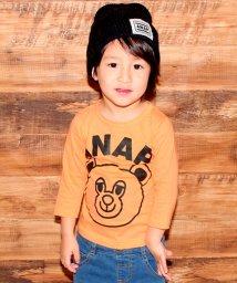 ANAP KIDS/ナップくんロングTシャツ/500081929