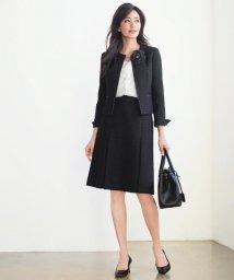 NIJYUSANKU/ボーダーカラミツイード スカート/500092274