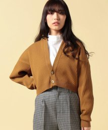 beautiful people/accordion pleats short cardigan/500081896